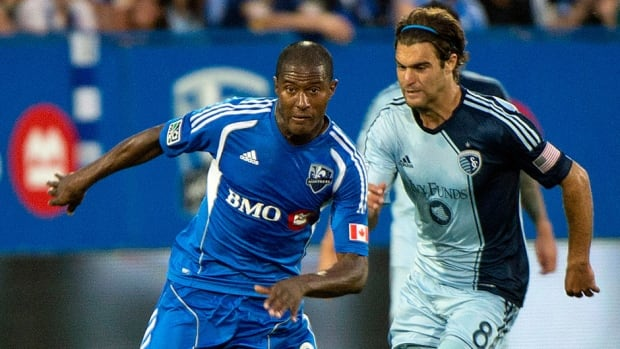 Midfielder Patrice Bernier, left, has been named captain of the Impact.The Brossard, Que., native replaces Davy Arnaud, who is now with D.C. United.