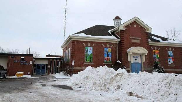 Millgrove Elementary School is among those trustees will discuss closing next week. The local public school board is getting a staff report that recommends closing 11 elementary schools and building three new ones.