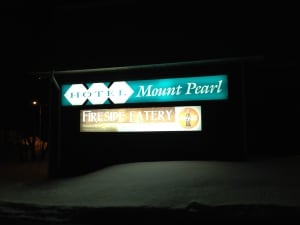 Fire at Hotel Mount Pearl