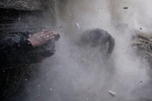 Syria tank shell