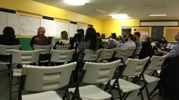 Fewer than 20 people showed up at a public meeting last night to talk about beach safety in Yellowknife.