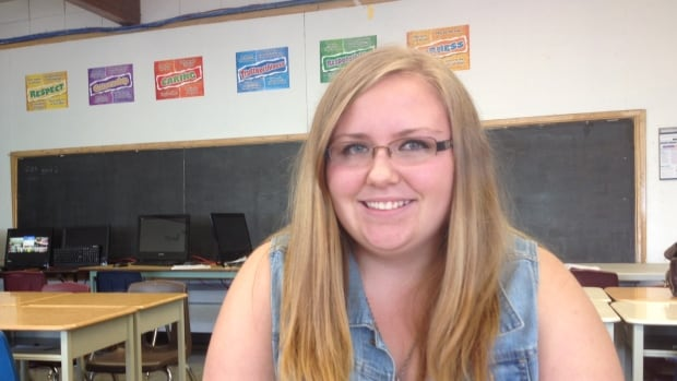 Meagan Coote got help from the Hamilton-Wentworth District School Board to overcome anxiety when she made the transition to high school from a smaller elementary school.