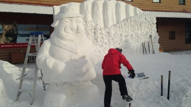 Snowcarving may be one the events changed or cancelled this winter in Whitehorse because of the warm temperatures.