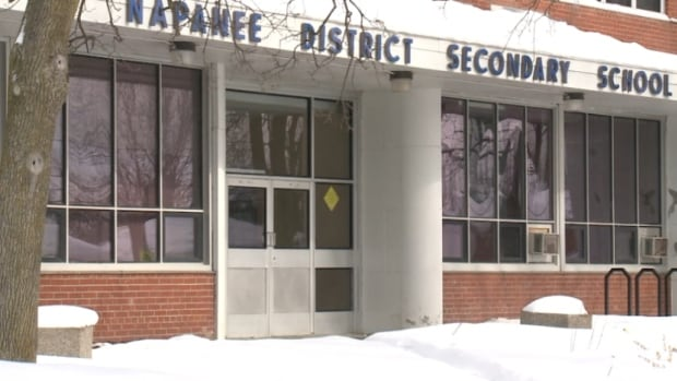 About 15 students were suspended from Napanee District Secondary School for swapping nude images.