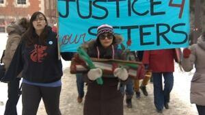 Edmonton march