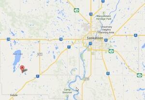 vanscoy saskatoon map