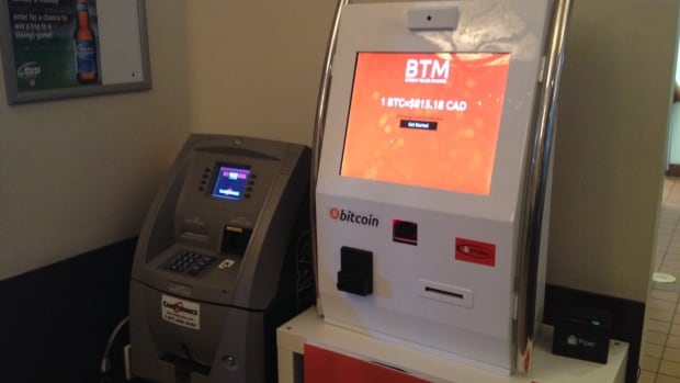 Bitteller, which dispenses the digital currency Bitcoin, installed its first ATM in Winnipeg on Saturday at Santa Lucia Pizza on St. Mary's Road.