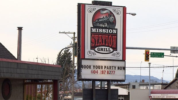 Mission RCMP say a man died in the parking of the Mission Station Grill from a self inflicted crossbow wound after shooting another man with the same crossbow.