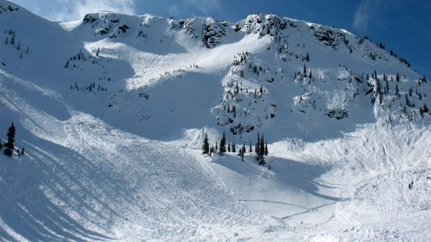 One person is dead following an avalanche on Boulder Mountain near Revelstoke, Saturday afternoon.