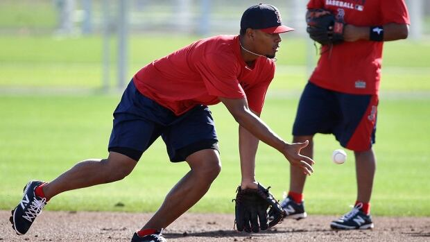 Red Sox infielder Xander Bogaerts, fielding a ball at the team's spring training facility in Fort Myers, Fla., will enter the 2014 as its starting shortstop with 2013 starter Stephen Drew unsigned.