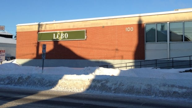 Thunder Bay police are searching for a man and woman after a robbery at the LCBO at 100 Cumberland St. on Saturday afternoon.