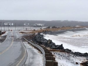 Lawrencetown beach storm