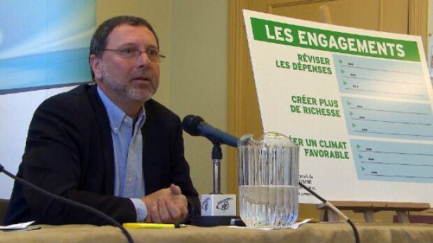 Conseil du patronat president Yves-Thomas Dorval says the Quebec government needs to prepare for an eventual budgetary crisis.