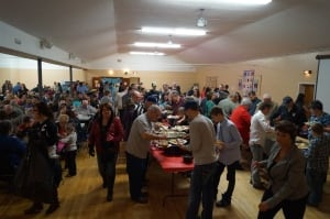 Hundreds of people in Odessa turned out for a fundraiser dinner
