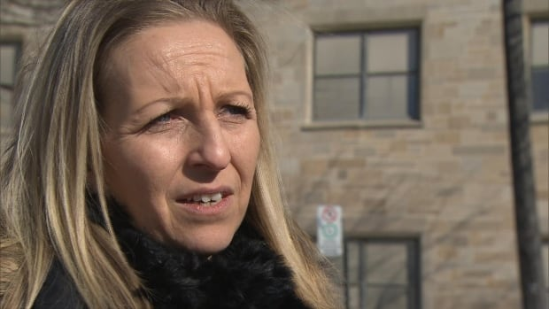 Lachute resident Nina Wozniak, 40, was diagnosed with breast cancer a few weeks ago and wants to be treated at a Montreal hospital.