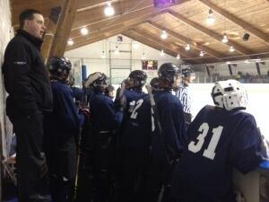 Rivers West takes on Saskatoon in Bantam Hockey