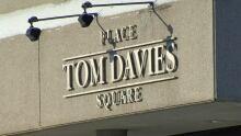 tom davies square sign