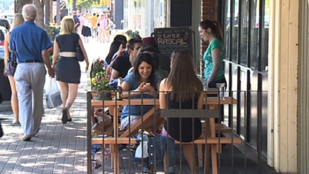 Last year, the city decided to streamline the application process for bars and restaurants that wanted to set up outdoor patios.