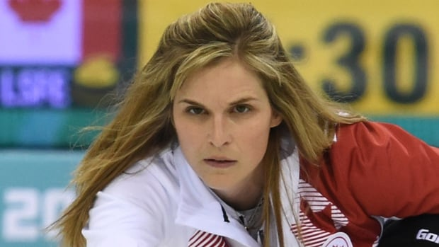 Canada's Jennifer Jones is moving onto the Olympic gold medal curling game after defeating Great Britain 6-4 on Wednesday.