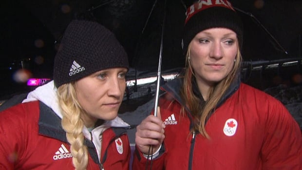 Kaillie Humphries and Heather Moyse are focusing on their own performance as they prepare for the final two heats of Olympic bobsleigh on Wednesday.