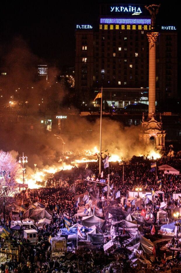 Chaos in Kyiv