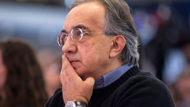 Sergio Marchionne, Chrysler's CEO, listens to a speech at the Canadian International Auto Show in Toronto last week. He mounted a defence of government support of the auto industry in an opinion piece in the Globe and Mail today.