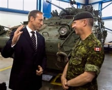 Peter MacKay and Andrew Leslie