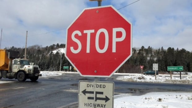 The intersection near Sudbury's Totten Mine has no traffic lights or on-ramps, and has been the site of fatal accidents.