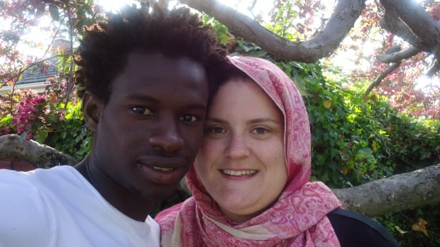 Muhammed Sillah and his common-law spouse, Sarah Mallette. Sillah says that he will be killed if he is deported to his native Gambia.