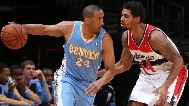 Andre Miller (24) was named a starter in just two of 30 games with the Nuggets this season,  averaging a career-low 5.9 points.