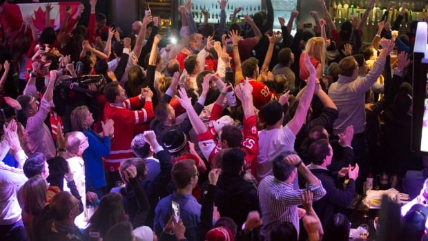 Bars in Alberta will be opening their doors extra early Sunday, just in time for patrons to cheer on the gold-medal men's hockey final.