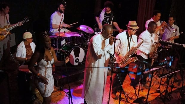 The Asiko Afrobeat Ensemble plays this weekend.
