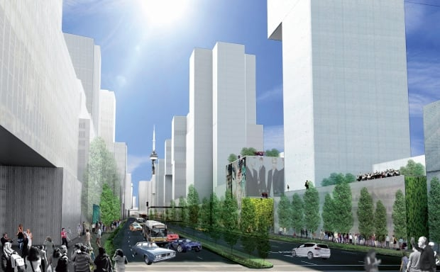Gardiner east proposals