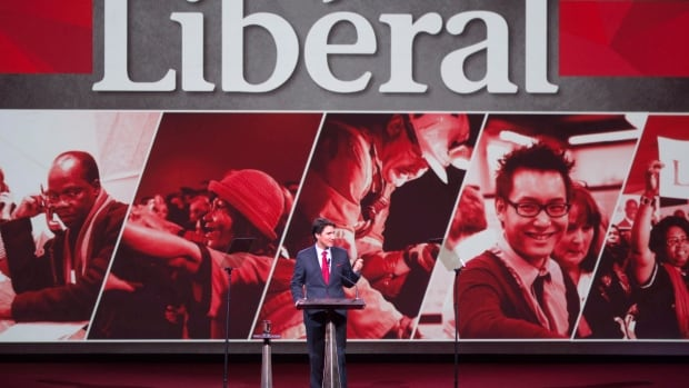 Liberals meeting in Montreal heard from leader Justin Trudeau for the second time in a nearly 45-minute address Saturday afternoon.