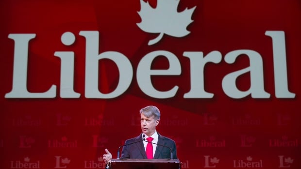 Retired lieutenant-general Andrew Leslie, former commander of the Canadian army, addressed the Liberal Party convention in Montreal on Friday, saying it would be 'an honour' to run alongside Liberal Leader Justin Trudeau in the next federal election.