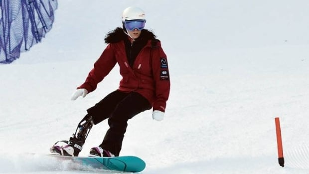 Michelle Salt of Calgary, Alta., was named Saturday to the Team Canada para-snowboard team and will compete at the 2014 Sochi Paralympic Games in the sport's debut appearance.