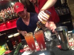 Round Table drinks for gold-medal game