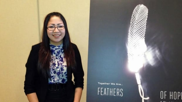 Lac Seul First Nation youth Meaghan Masakeyash says working on the Feathers of Hope report was a big undertaking. The report came out of meetings last year involving more than 160 aboriginal youth from 64 communities.