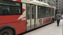 Diesel hybrid bus