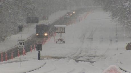 Snowstorm creates travel chaos across B.C.'s South Coast