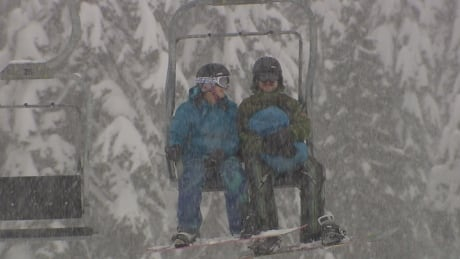 Skiers and snowboarders rejoice on North Shore mountains