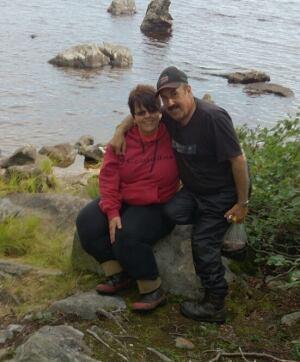 David-Warren-with-wife-Madina