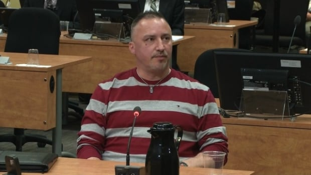 Bernard Gauthier has been found guilty of intimidating a construction contractor