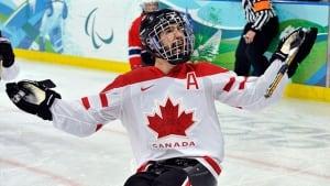 Greg Westlake celebrates after scoring on Norway