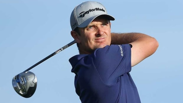 Justin Rose is the 2013 U.S. Open champion, and first hurt his shoulder last August during The Barclays.