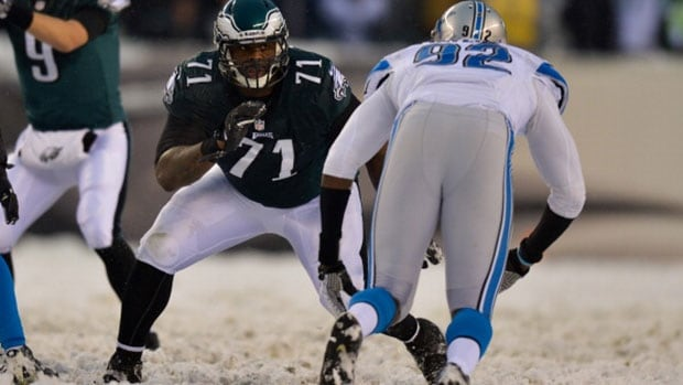 Philadelphia Eagles left tackle Jason Peters (71) is a six-time Pro Bowl pick and two-time All-Pro.