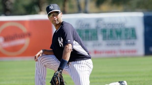 New York Yankees shortstop Derek Jeter fields a ground ball during spring training last week in Tampa, Fla.