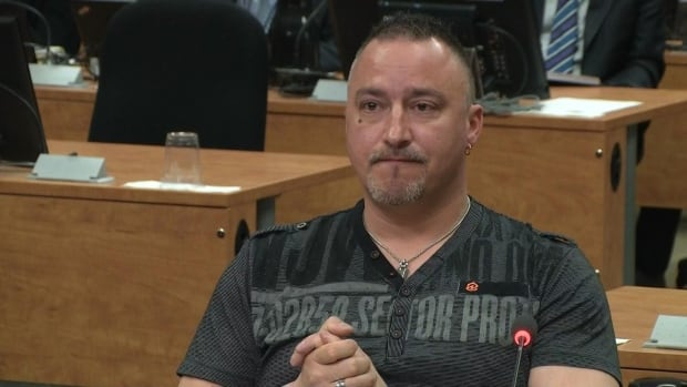 Union organizer Benoit Gauthier told the Commission he never used intimidation to get what he wanted.