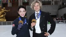 Meryl Davis, Charlie White yet to decide on figure skating worlds