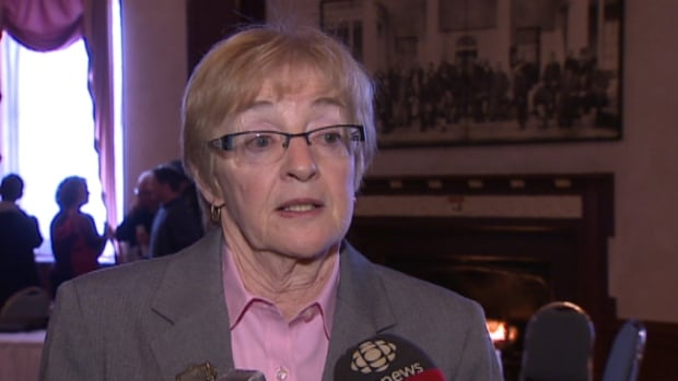 Maude Barlow spoke about the importance of protecting groundwater.
